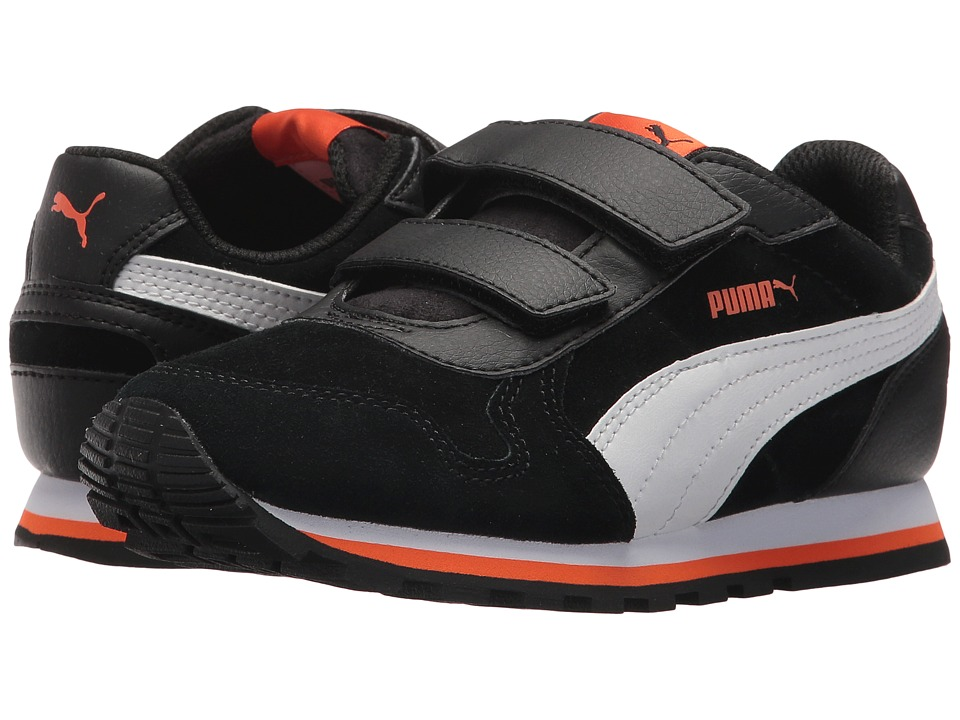 Puma Kids ST Runner SD V (Little Kid/Big Kid) (Puma Black/Puma White) Boys Shoes