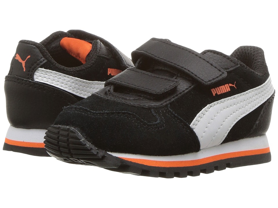 Puma Kids ST Runner SD (Toddler) (Puma Black/Puma White) Boys Shoes