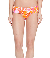 LAUREN Ralph Lauren - Lush Tropical Classic Shirred Banded Hipster Bottom