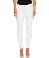 Mavi Jeans - Adriana Mid-Rise Skinny Ankle in Super White