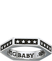 King Baby Studio - Hexagon Stackable Ring with Stars