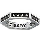 King Baby Studio Hexagon Stackable Ring with Stars