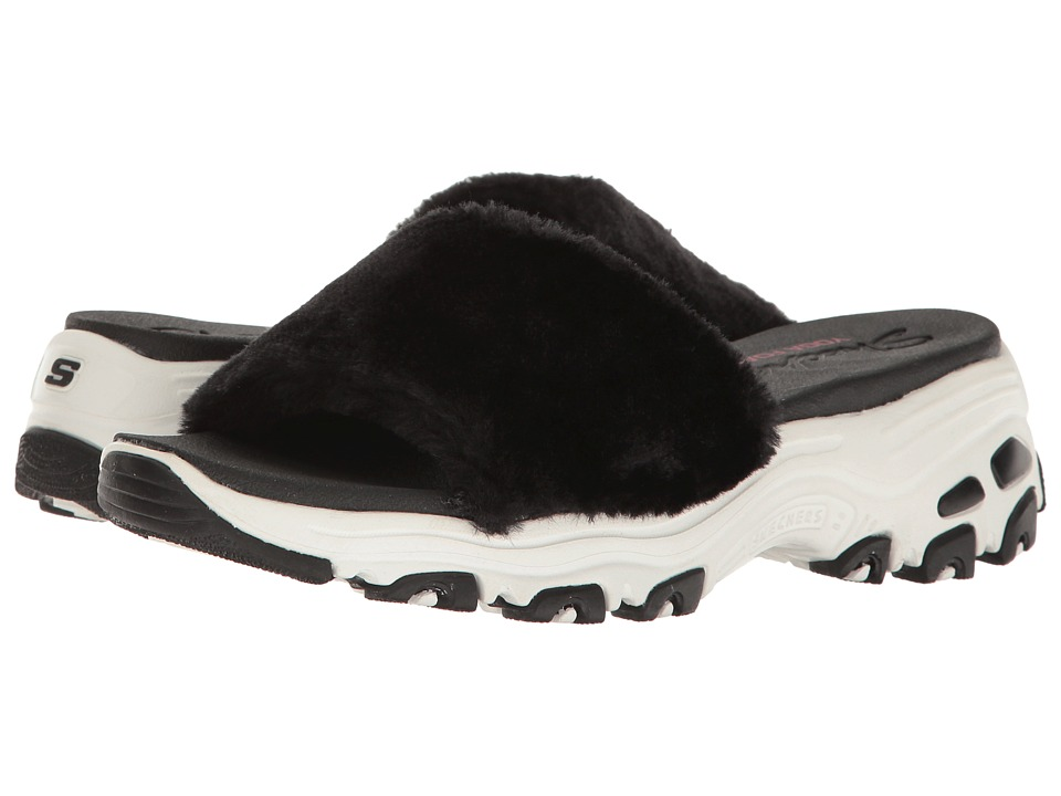 Skechers D'Lites - Double Date (Black) Women's Shoes