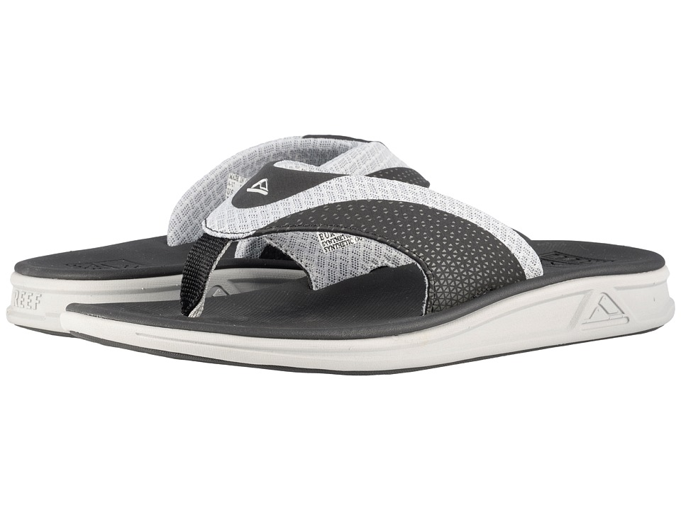Reef - Rover Mesh (Grey/Black) Men's Sandals