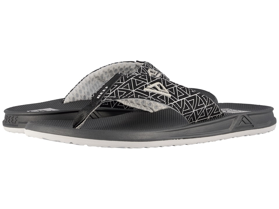 Reef - Phantom Prints (Black Triangle) Men's Sandals