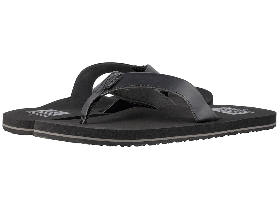 Reef - Twinpin (Black) Men's Sandals