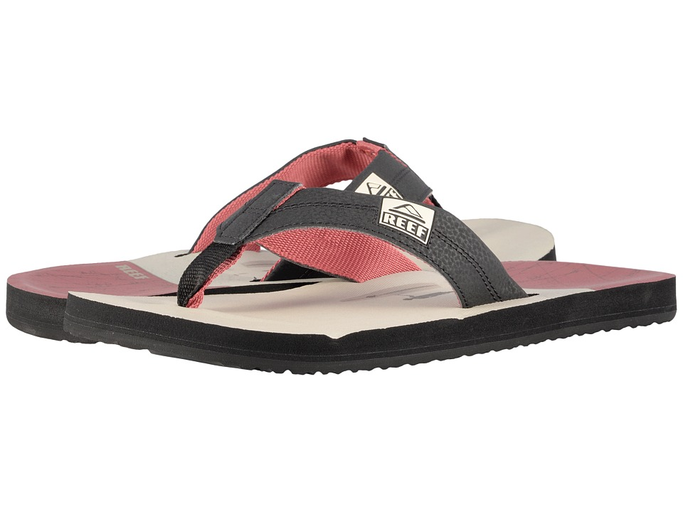 Reef - HT Prints (Vintage Red Surfer) Men's Sandals