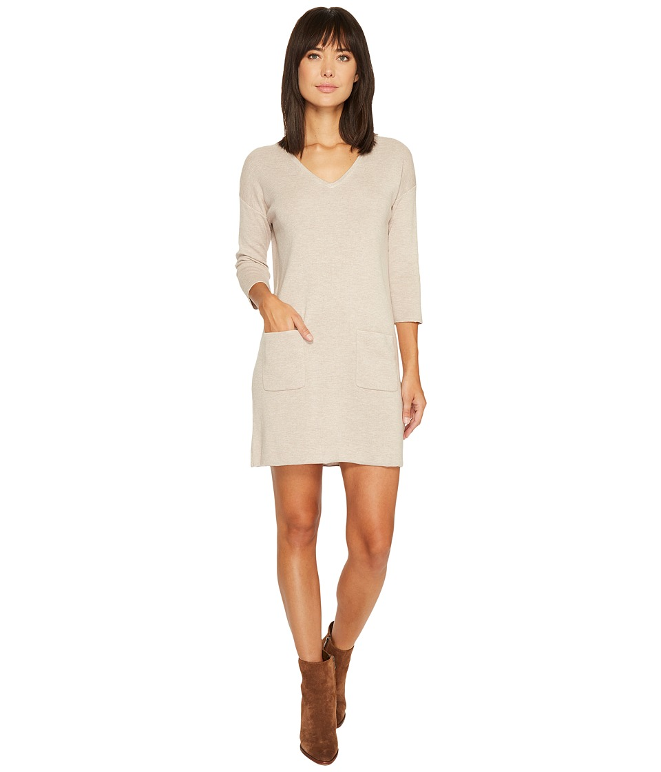 Lilla P Sweater Dress (Cameo) Women