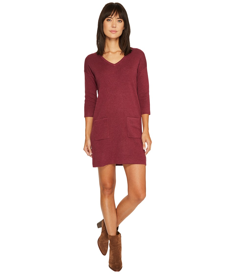Lilla P Sweater Dress (Wild Berry) Women