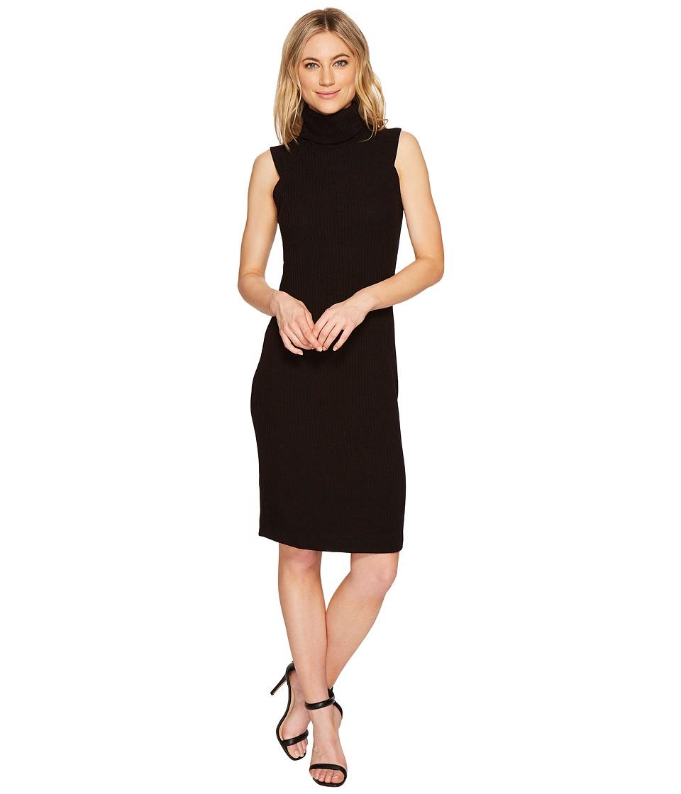 Splendid Slouch Mock Dress (Black) Women