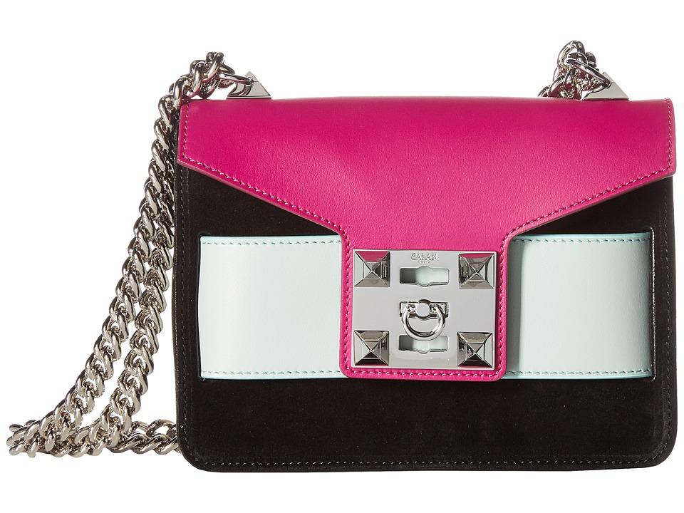 Salar - Mila (Orchid/Sky/Black) Cross Body Handbags