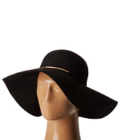 San Diego Hat Company - WFH8058 Floppy Hat with Braided Faux Leather