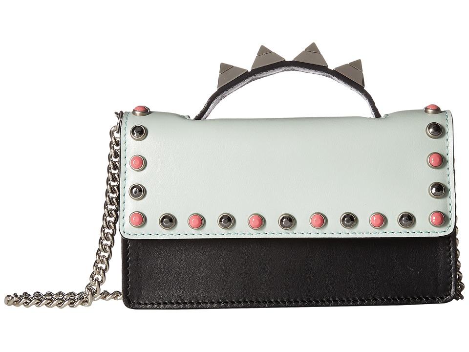 Salar - Zoe Ring (Orchid/Sky/Black) Top-handle Handbags