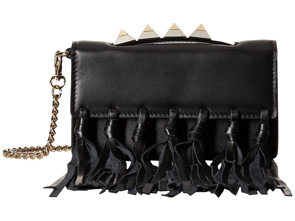 Salar - Zoe Knots (Black) Top-handle Handbags