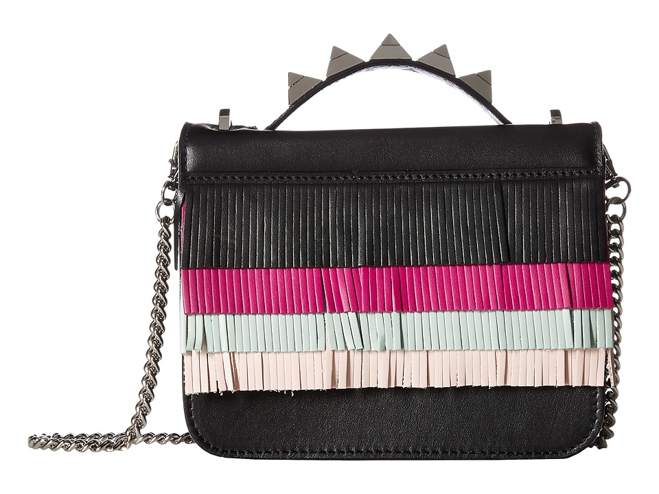 Salar - Lulla Small Aloha (Orchid/Sky/Soft Pink/Black) Top-handle Handbags