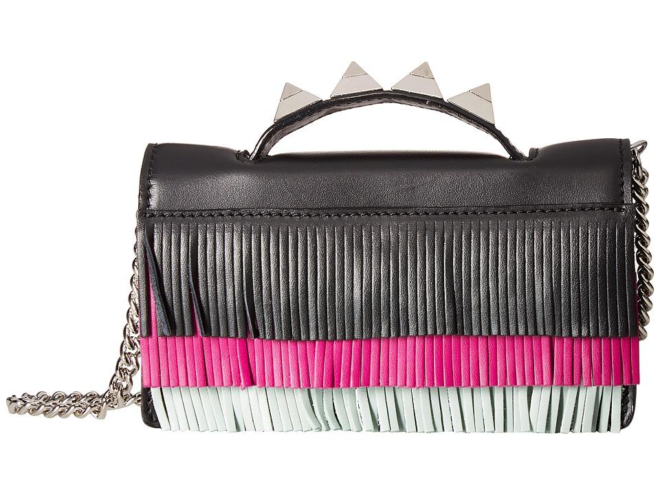 Salar - Zoe Aloha (Orchid/Sky/Black) Top-handle Handbags