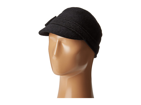 San Diego Hat Company CTH8086 Soft Cadet with Side Bow - Black