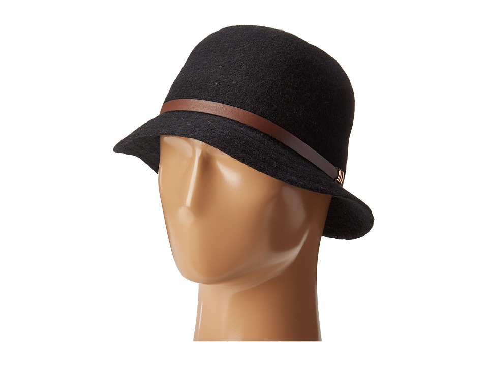 San Diego Hat Company - CTH8068 Cloche with Band (Black) Caps