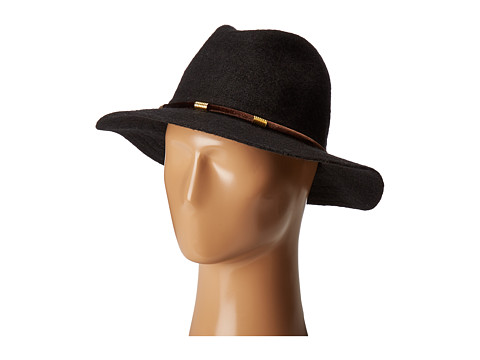 San Diego Hat Company CTH8074 Knit Fedora with Velvet Band - Black