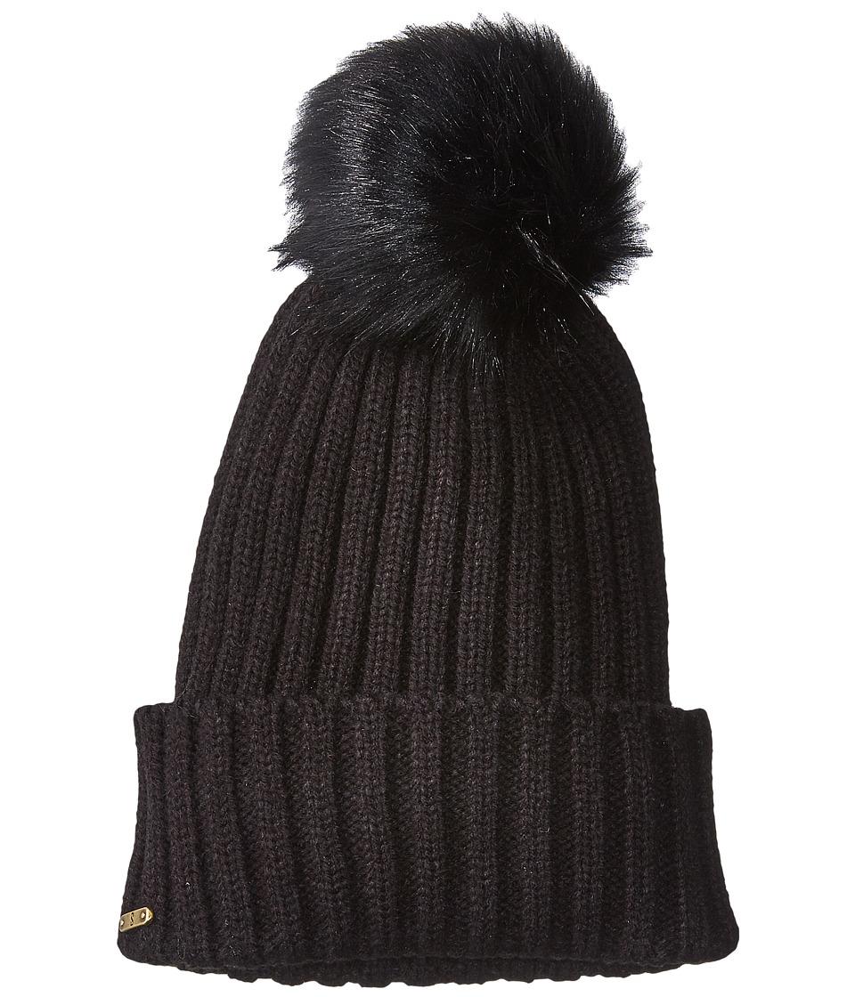 San Diego Hat Company - KNH3476 Beanie with Pom Pom (Black) Beanies