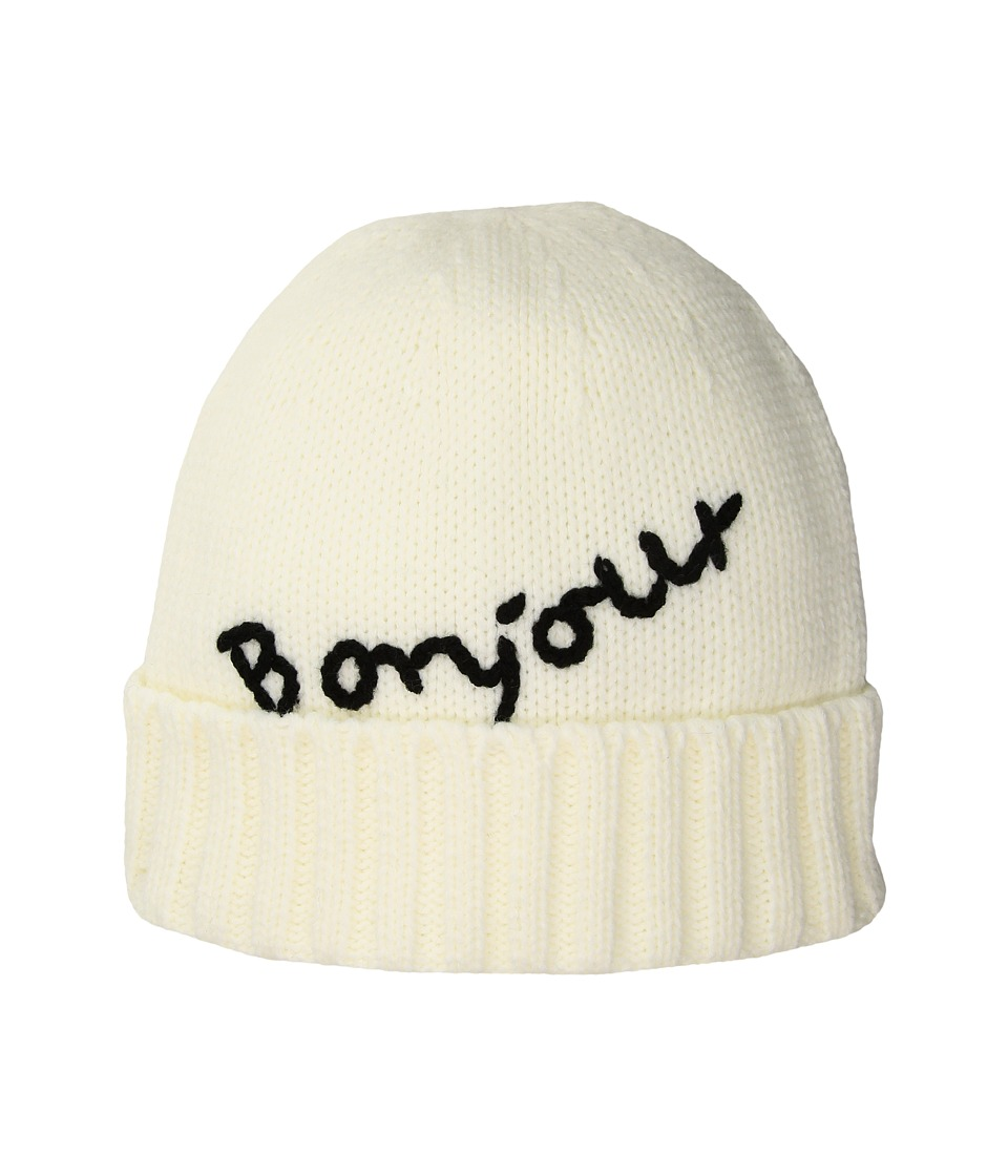 San Diego Hat Company - KNH34171 Bonjour Beanie (Ivory) Beanies