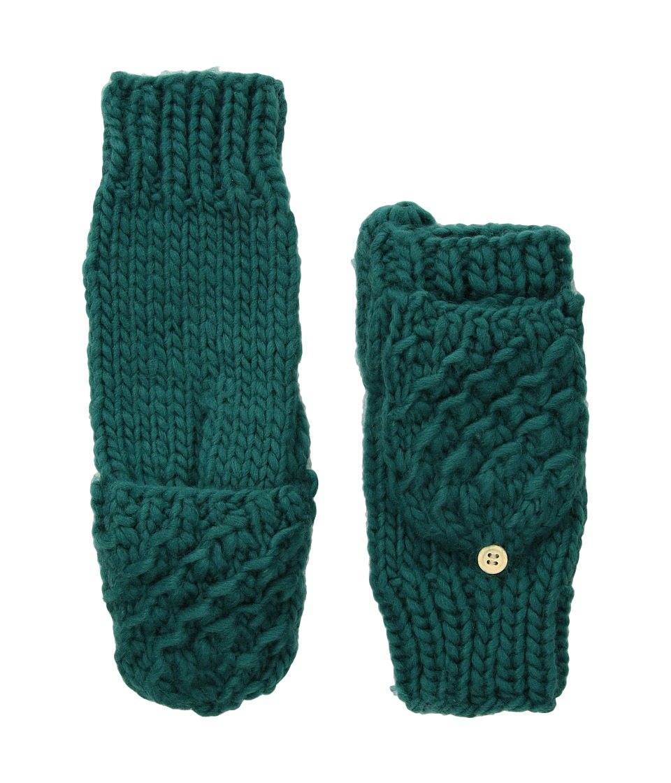 San Diego Hat Company KNG3493 Knit fingerless Gloves (Teal) Dress Gloves