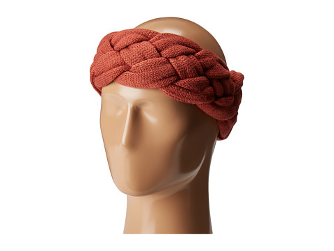 San Diego Hat Company KNH3479 Braided Headband - Rust