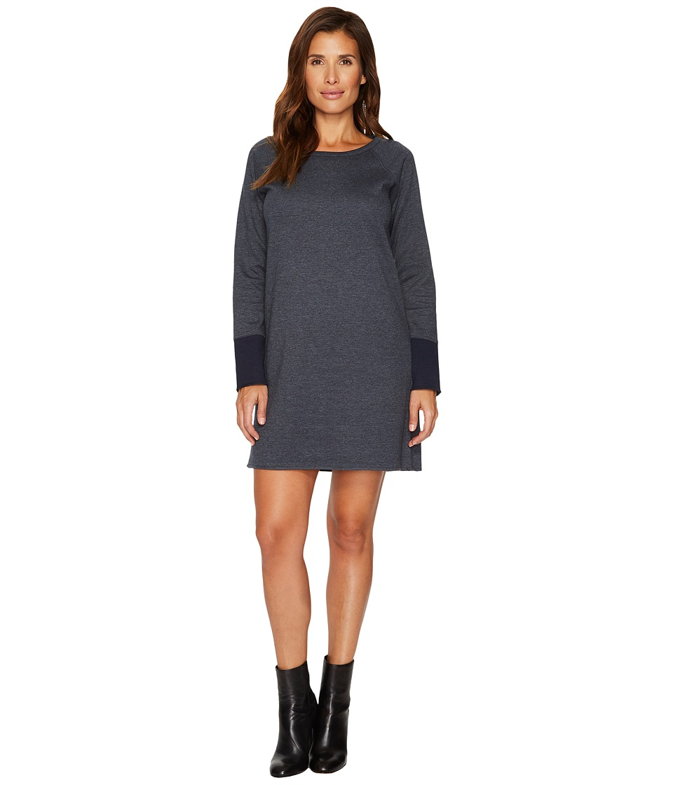 Lilla P Reversible Dress (Charcoal/Navy) Women