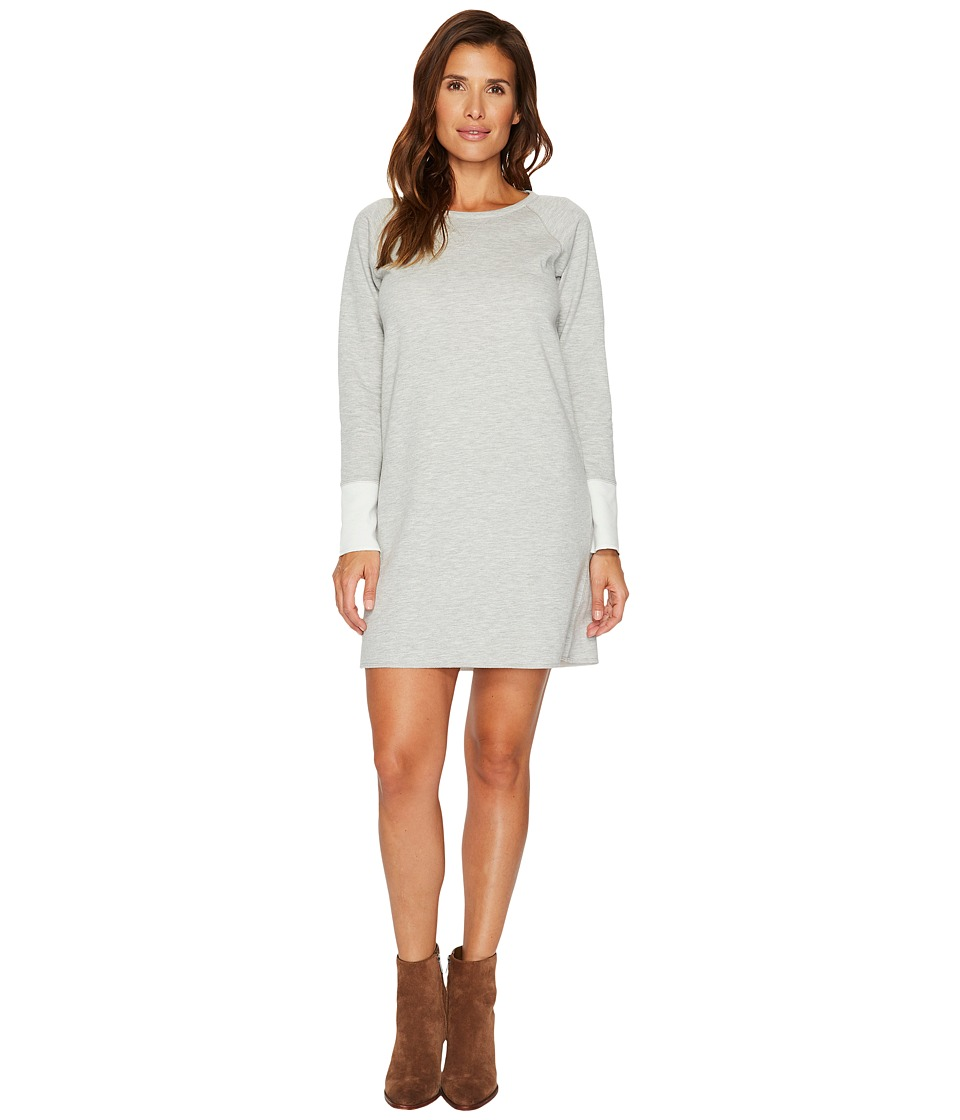 Lilla P Reversible Dress (Heather Grey/Snow) Women