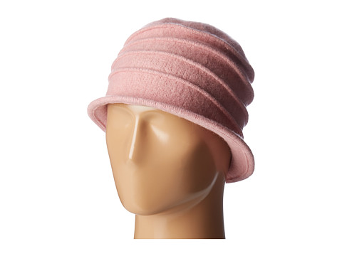 San Diego Hat Company CTH8089 Soft Knit Cloche with Accordion Detail - Pink