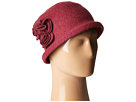 San Diego Hat Company San Diego Hat Company CTH8088 Soft Knit Cloche with Side Flower