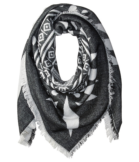 San Diego Hat Company BSS3532 Tribal Print Scarf - Black