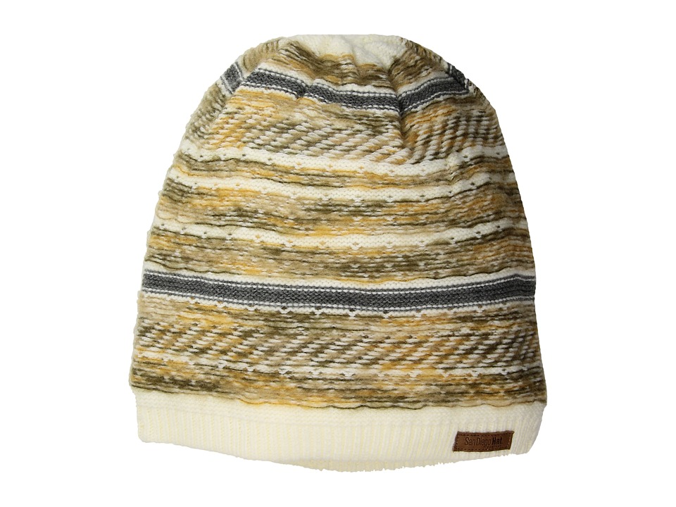 San Diego Hat Company - KNH3502 Pattern Beanie (Ivy) Beanies