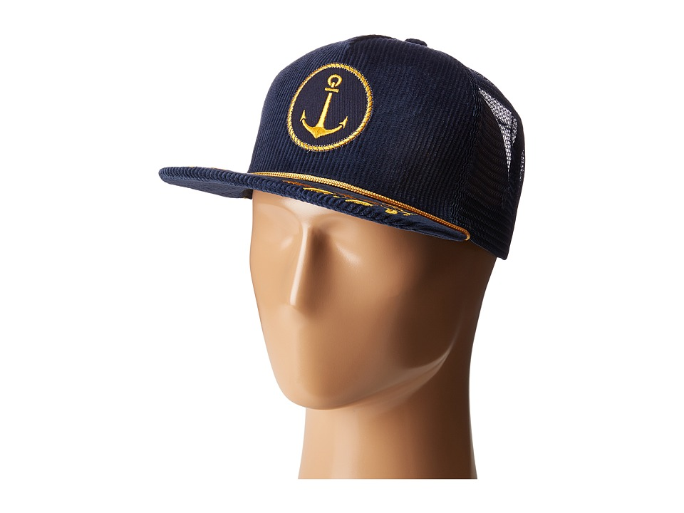 San Diego Hat Company - SLW3562 Anchor Cap (Navy) Caps