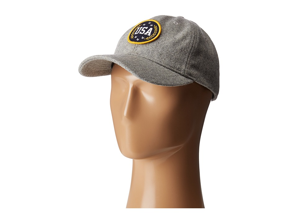 San Diego Hat Company - SLW3561 USA Cap (Grey) Caps