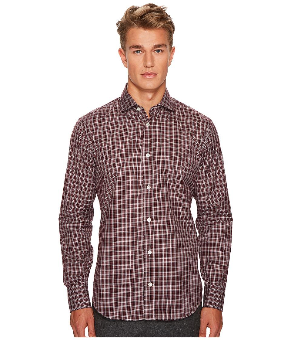 eleventy - Check Spread Collar Button Down