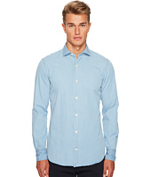 eleventy - Chambray Spread Collar Button Down