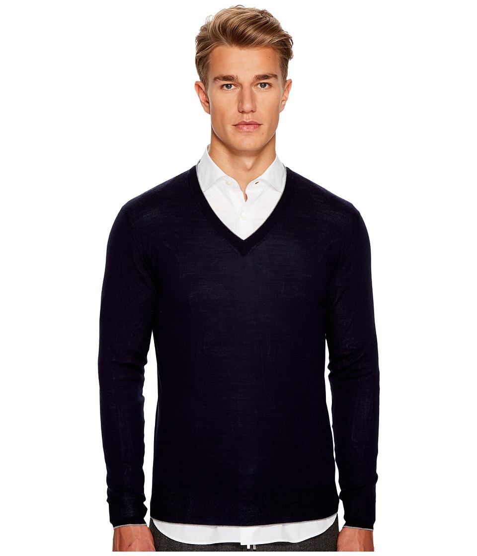 eleventy - Fine Gauge V-Neck Sweater
