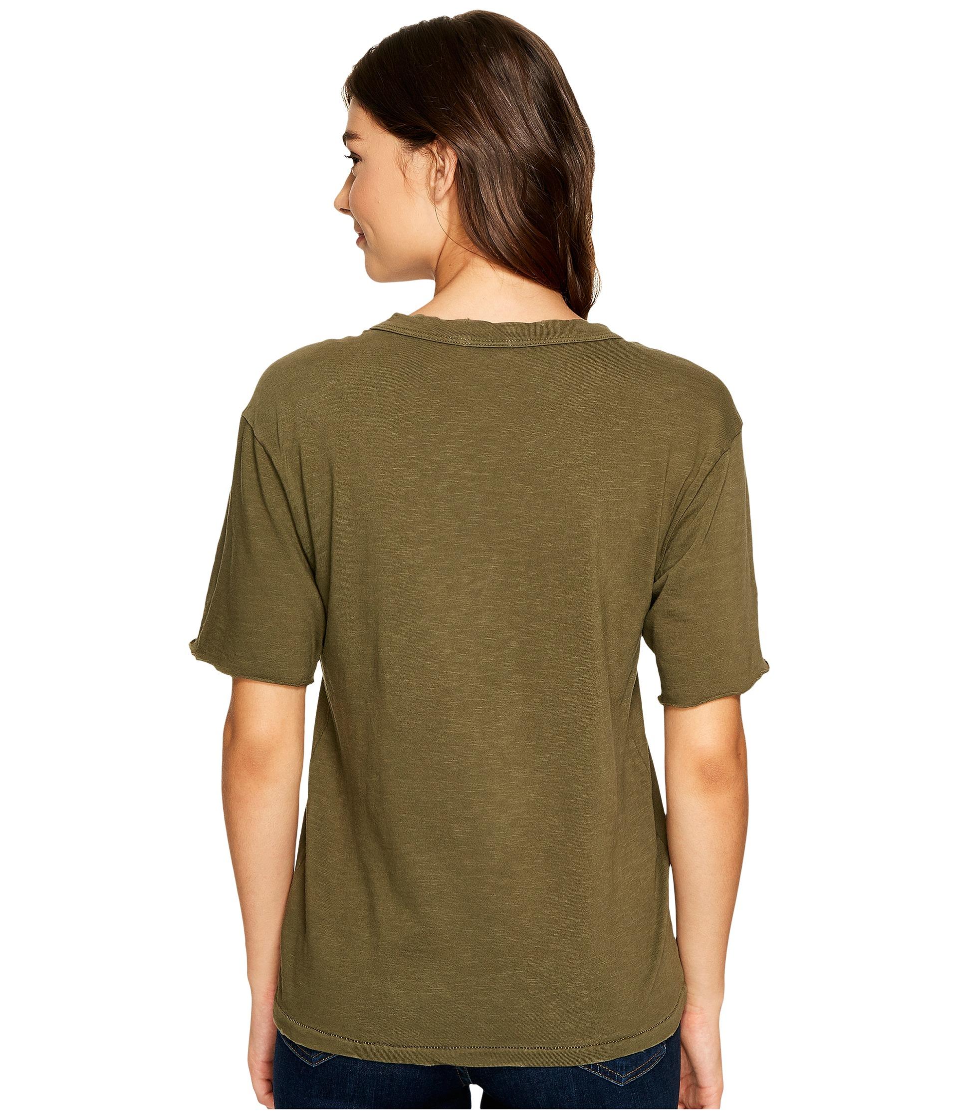 Splendid cotton slub t shirt at for What is a slub shirt