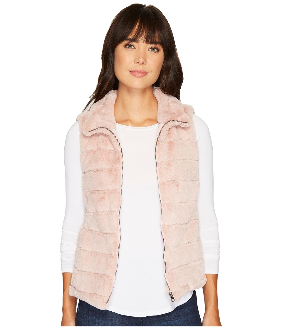 Dylan by True Grit - Faux Fur Love Vest (Pale Pink) Women...
