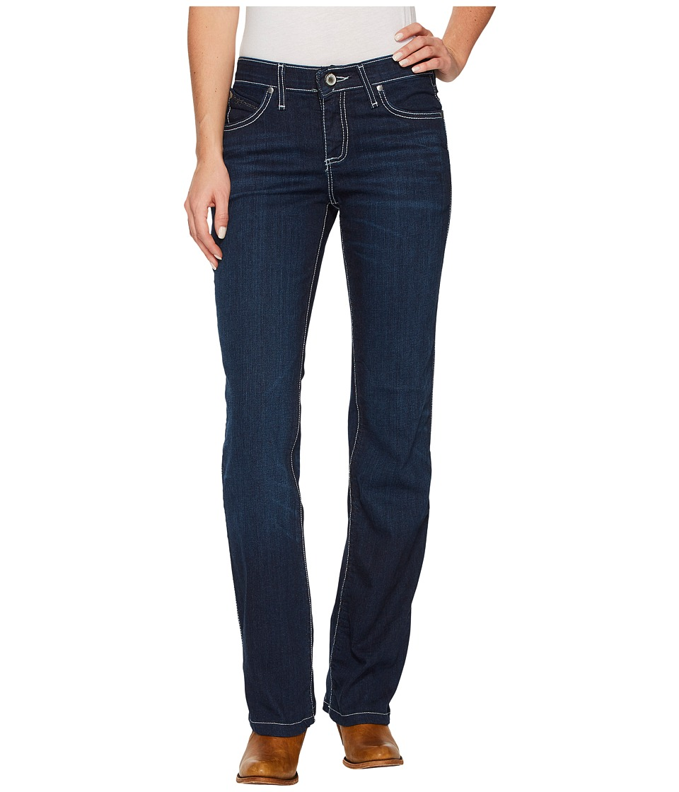Wrangler - Q-Baby Booty Up Jeans (Dark Wash) Womens Jeans