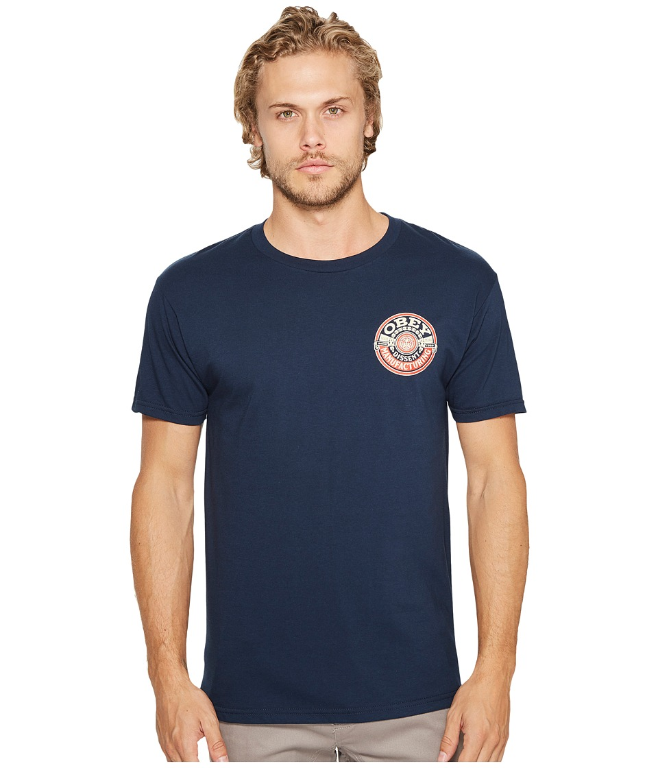 Obey Obey - Dissent Mfg. Wreath Tee