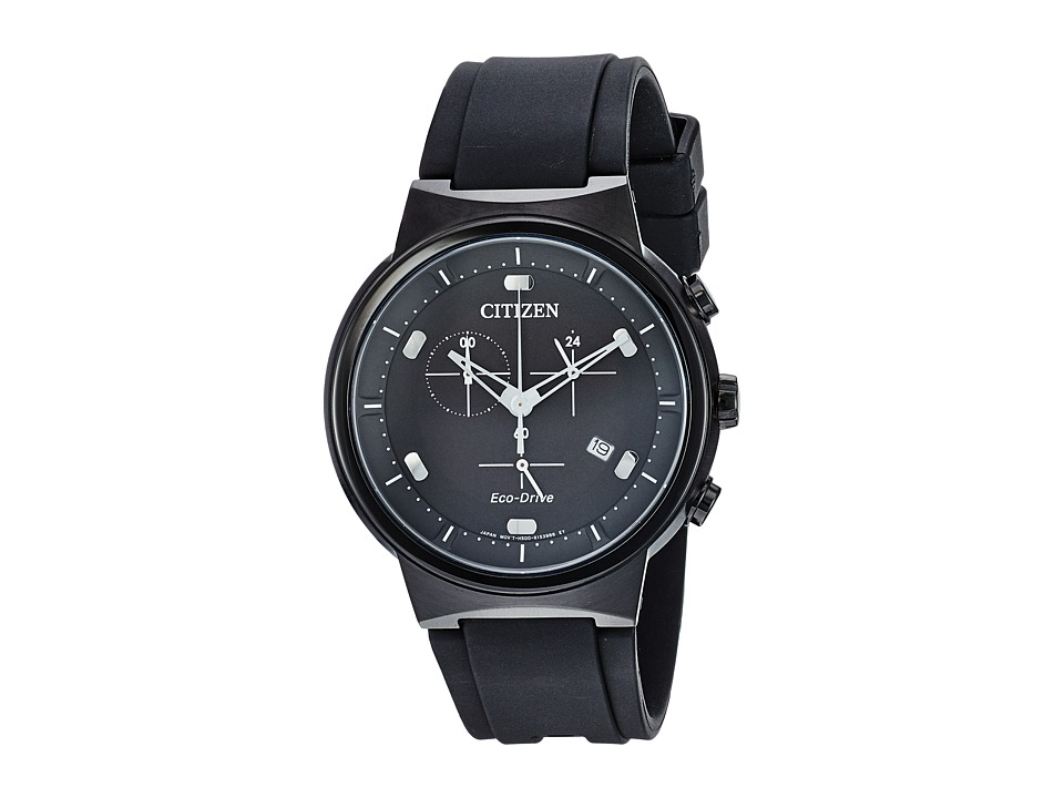 Citizen Watches - AT2405-01E Eco-Drive (Black) Watches