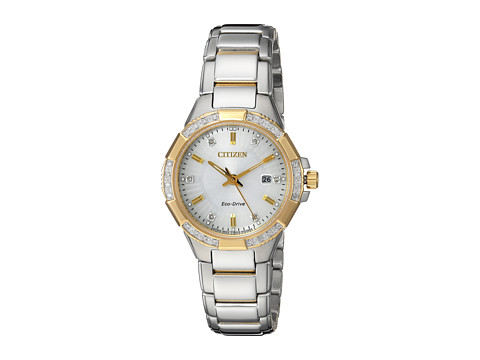 Citizen Watches EW2464-55A Eco-Drive - Two-Tone