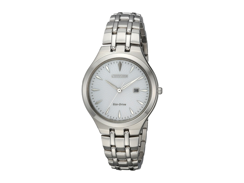 Citizen Watches - EW2490-55A Eco-Drive (Silver-Tone) Watches