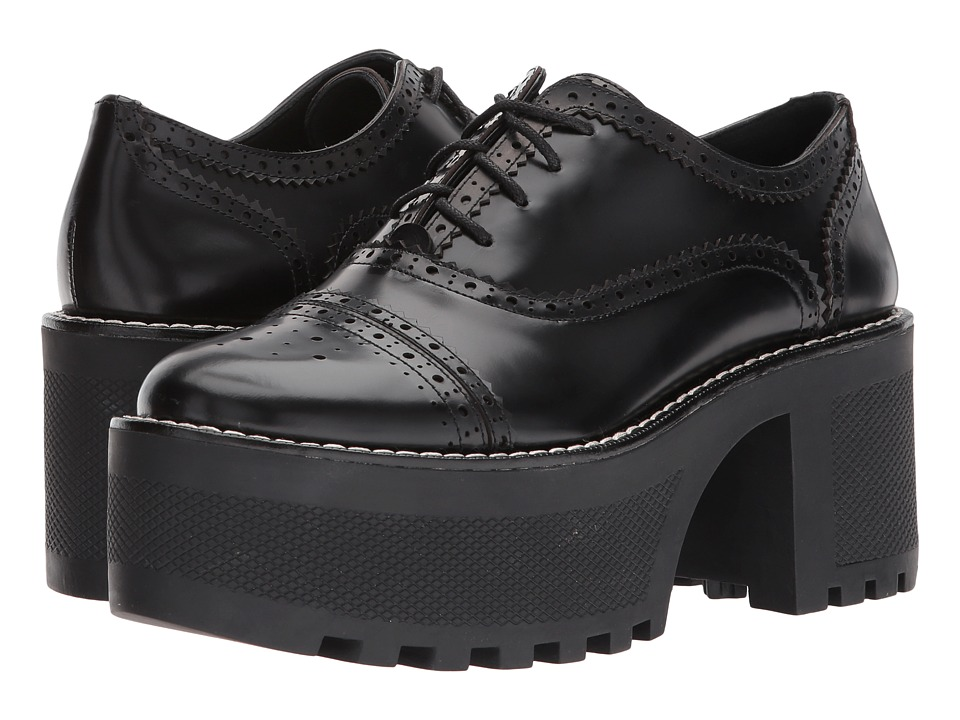 Alice + Olivia - Ripley (Black Box Calf) Womens Shoes