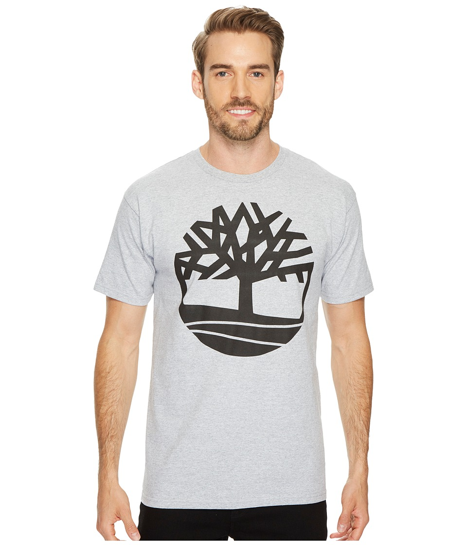 Timberland Short Sleeve Tree Tee (Grey) Men