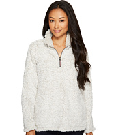 Dylan by True Grit - Frosty Tipped Pile Stadium Pullover with Pockets