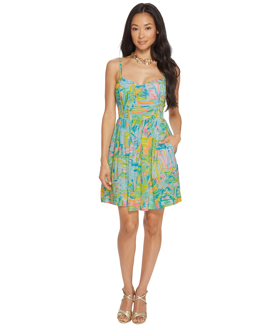 Lilly Pulitzer Christine Dress (Multi Sea Salt and Sun) Women
