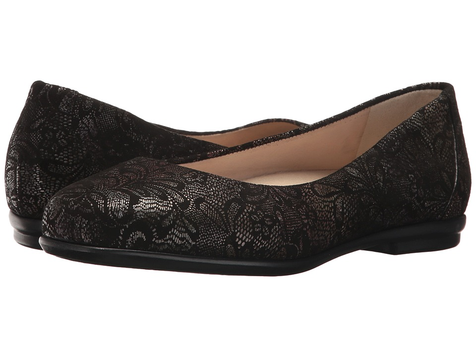 SAS Scenic (Black Lace) Women's Shoes